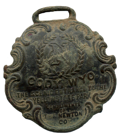 Cody Wyoming Watch Fob