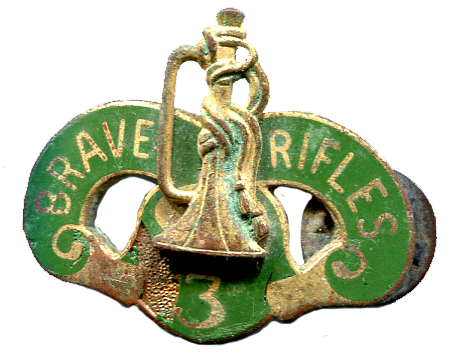 Brave Rifles Pin