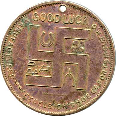 Boy Scout Good Luck Token - Excelsior Shoe Co