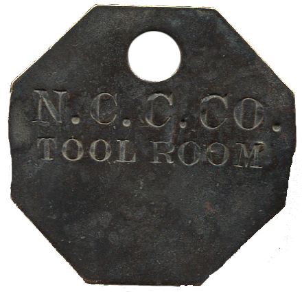 Nevada Consolidated Copper Co Tool Check