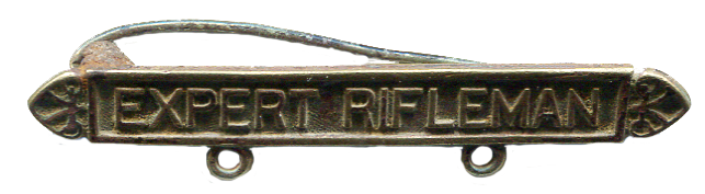Expert Rifleman Pin