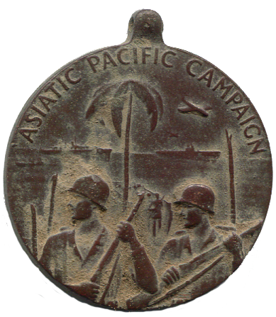 WWII Asiatic Service Medallion