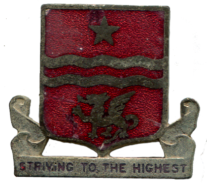30th Field Artillery Pin