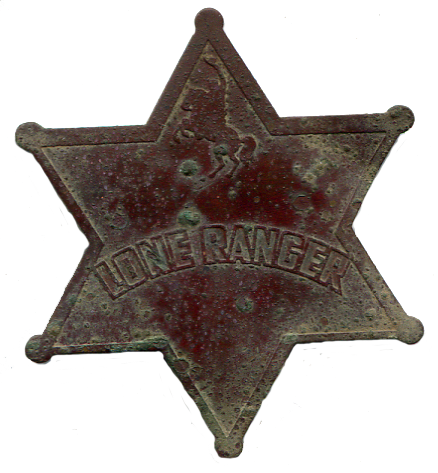 Lone Ranger Badge