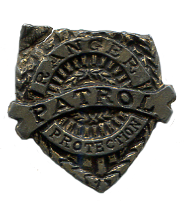 Toy Ranger Patrol Badge