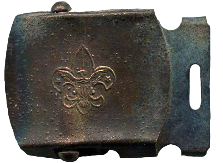 Boy Scout Buckle