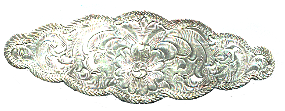 Silver Harness Piece