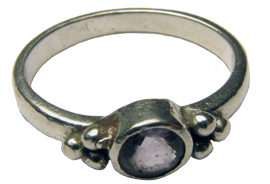 Silver Ring with Stone