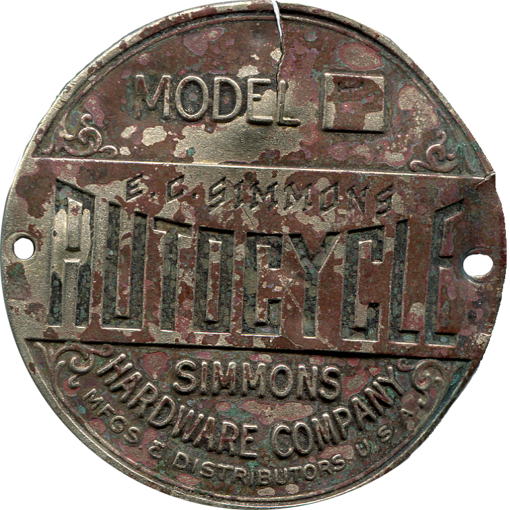 Simmons Autocycle Tag