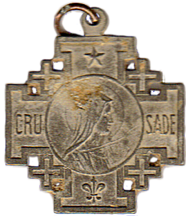 Crusade Medallion - Front