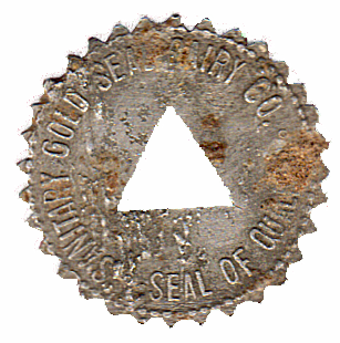 Sanitary Gold Seal Dairy Co Token