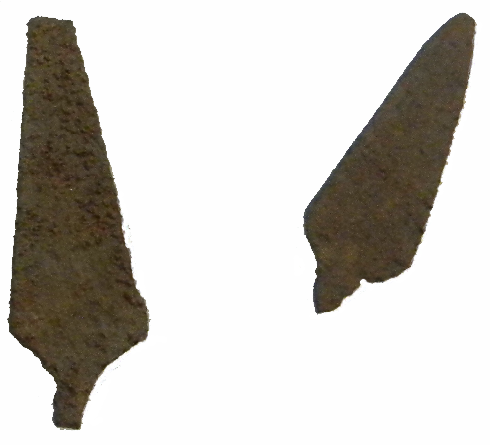 Metal Arrowheads