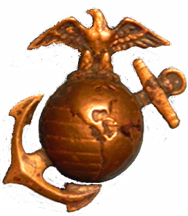 WWII Marine Corps Insignia