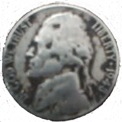 1943 War Nickel
