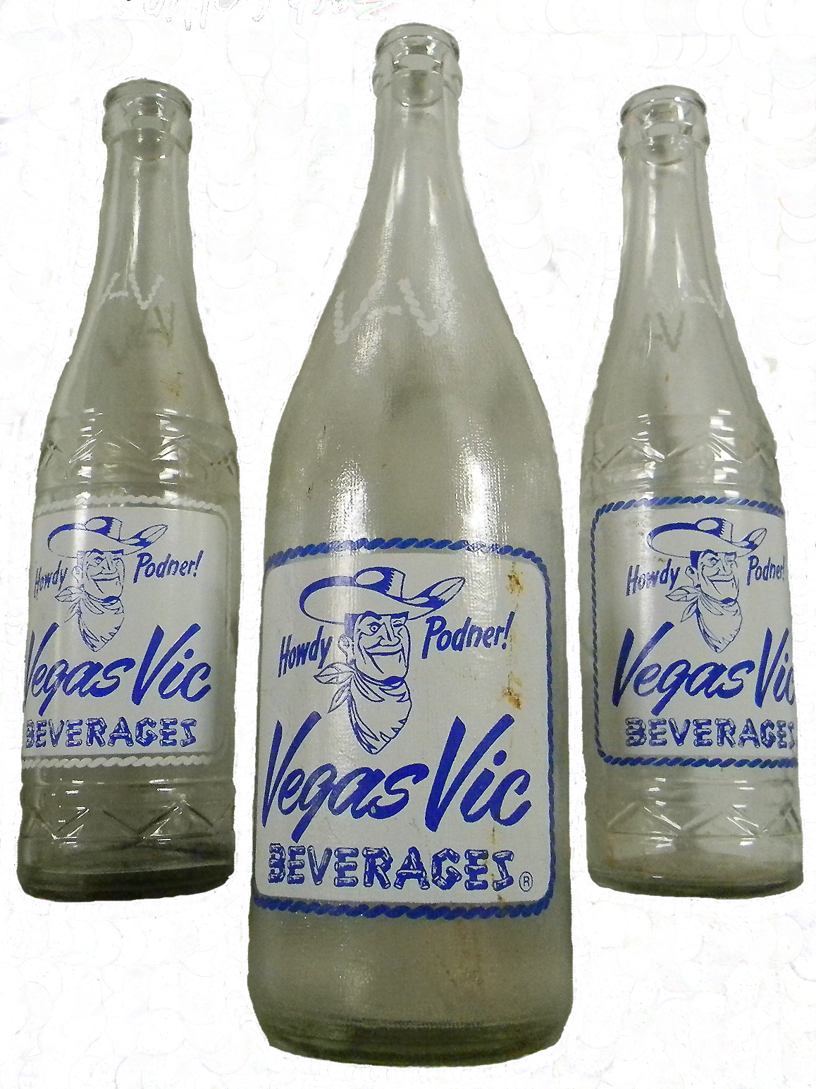 Vegas Vic Bottles