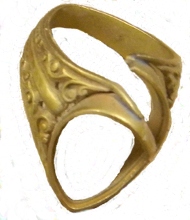Mangled Gold Ring