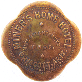 Miners Home Token - Obverse