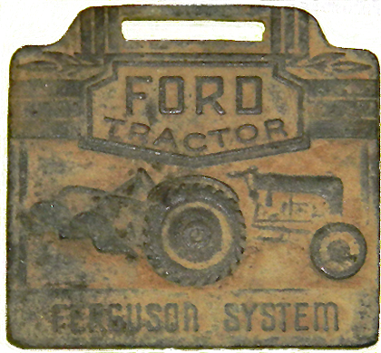 Ford Tractor Key Fob