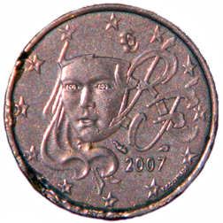 2007 Euro 5 Cent - Obverse