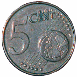 2007 Euro 5 Cent - Reverse