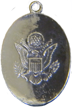 WWII ID Charm - Obverse