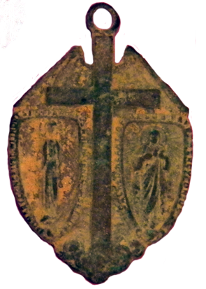 5 Way Catholic Medallion - Obverse