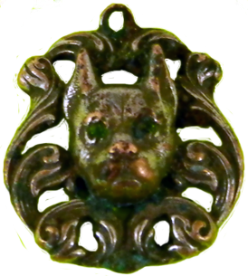 Dog Head Pendant