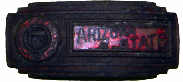 AZ State College Buckle