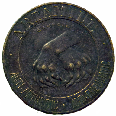 Pharmacuetical Token - Obverse