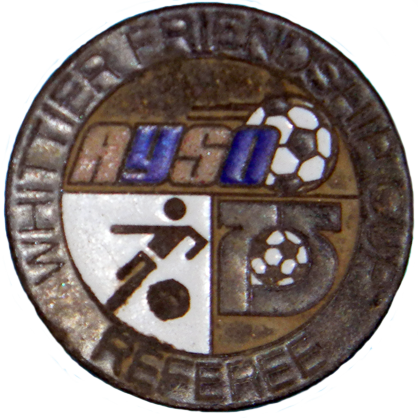 Soccer Referee Coin - Obverse