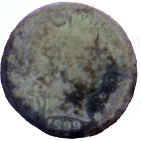 1899 Barber Quarter - Obverse