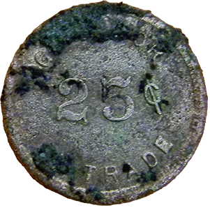 Union Bar Token - Reverse