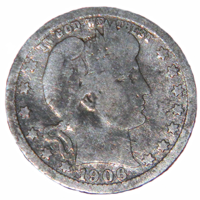 1906 Barber Quarter - Obverse