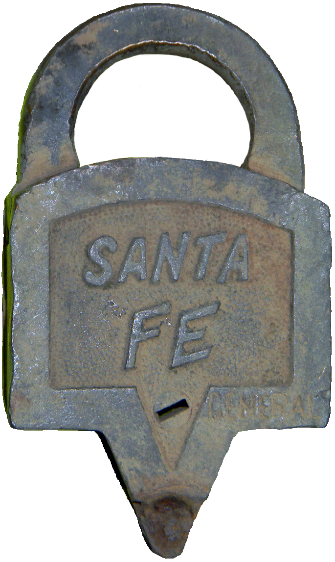 Santa Fe Railroad Lock