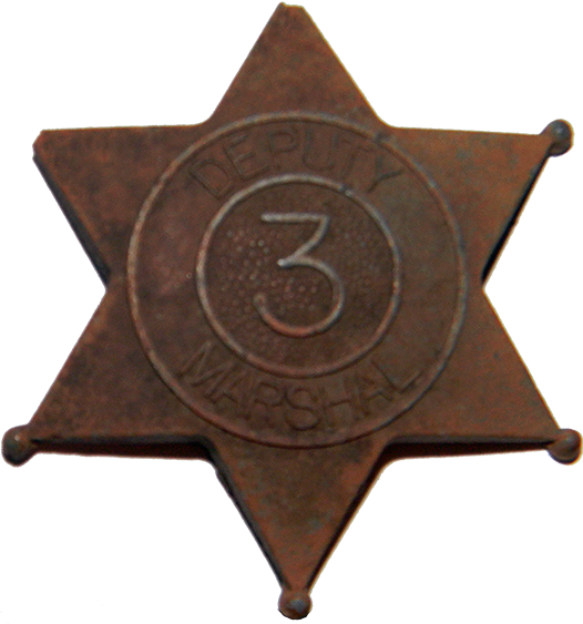 Toy Deputy Marshal Badge