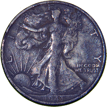 1943 Walking Liberty Half - Obverse
