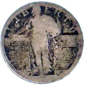 Standing Liberty Quarter - Obverse