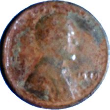 1929 Wheat Cent - Obverse