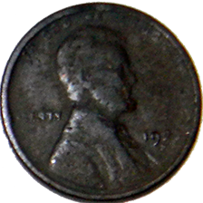1922 Wheat Cent - Obverse