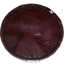 1918 Wheat Cent - Obverse