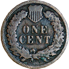 1888 Indian Head Cent - Reverse