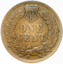 1902 Indian Head Cent - Reverse