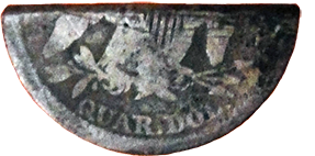 Halved Seated Quarter - Reverse