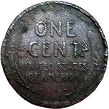 1910 S Wheat Cent - Reverse