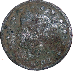 1902 V Nickel - Obverse