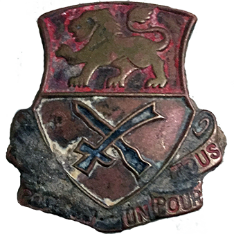 15th Cavalry Regiment DUI