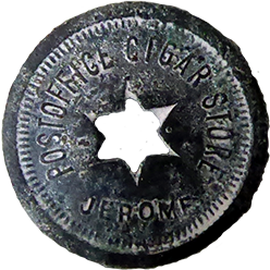 Post Office Cigar Store Token