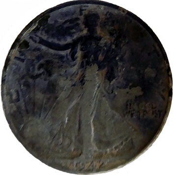 1942 Walking Liberty Half - Obverse