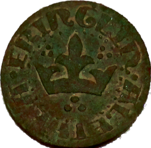 SCA Kingdom Of Calontir Token 1996 - Obverse