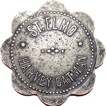 St Elmo Trade Token - Obverse